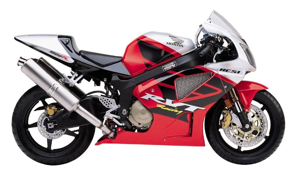 Honda RC51 '02-'06 on